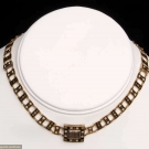 HAIR MOURNING BRACELET/NECKLACE, 1820s