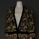 EMBROIDERED SILK JACKET, PARIS, LATE 1920s