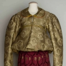 TWO WOMEN'S GARMENTS, RUSSIA, MID 19TH C