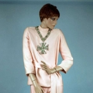 NORMAN NORELL EVENING PANT SUIT, 1969