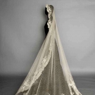 POINT DE GAZ WEDDING VEIL, c. 1900