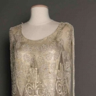 SILVER LACE WEDDING GOWN, 1927