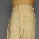 MAN'S BOOT CUT WOOL TROUSERS, AMERICAN, 1850s