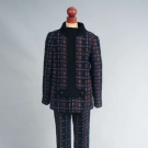 PIERRE CARDIN WOOL PANTS SUIT, 1960s