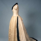 SUMMER RECEPTION GOWN, FRANCE, c. 1880