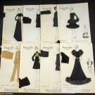 39 DIOR CROQUIS & OTHER EPHEMERA, 1968-1973