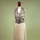 MADELEINE VIONNET EVENING GOWN, LATE 1930s