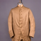 GENTS 3 PIECE STRIPED SILK SUIT, 1760-1780
