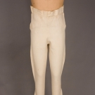 GENT'S WHITE LEATHER PANTS, ENGLAND, 1800-1825