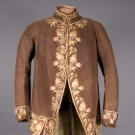 GENT'S EMBROIDERED FORMAL COAT, 1775-1800
