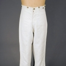 GENT'S LINEN TROUSERS, AMERICA, 1830-1850