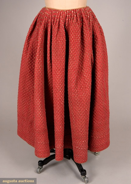 turkey red petticoat